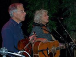 "Dick Staber, left; songwriter ""Call Collect on Christmas"""