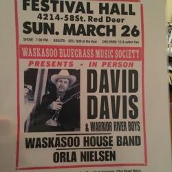 David Davis waskasoo
